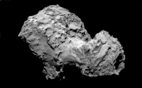 Comet fragment