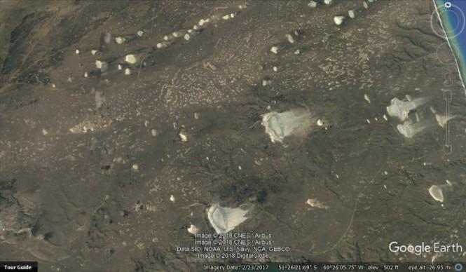 SA impact craters