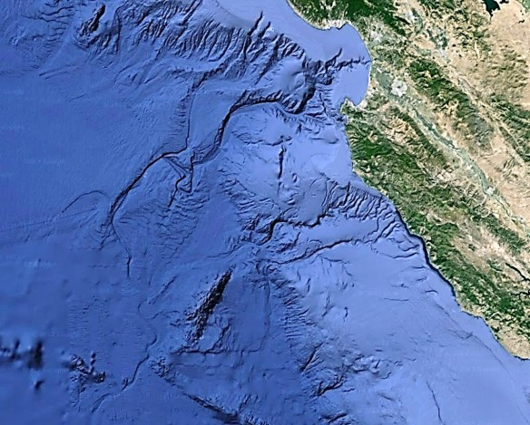 Monterey Canyon bathymetry 14Oct2019