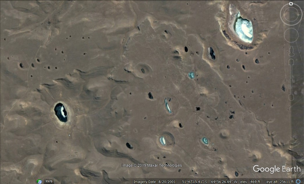 Argentina impact similarity w MBARI craters
