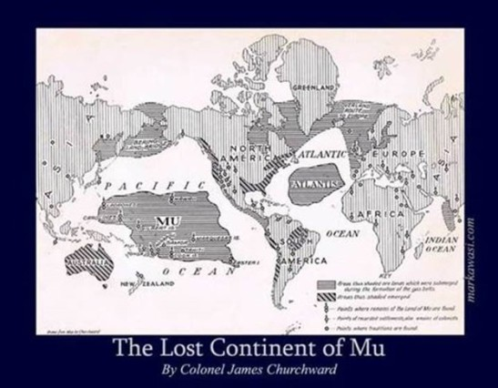 Lost Continent of Mu by Churchward