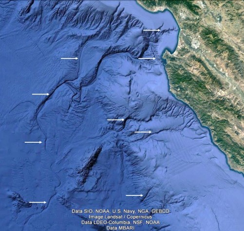 Figure 6a Monterey Canyon
