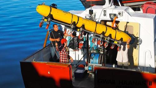 Haida underwater autonomous vehicle photo 2014