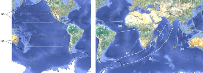 landmass movement diagram 4June2020